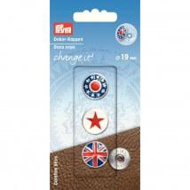 PRYM 19 Mm Dekoratif Düğme Kapağı - 622601