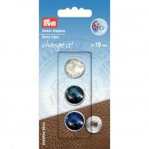 PRYM 19 Mm Dekoratif Düğme Kapağı - 622603