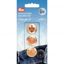 PRYM Kot 22 Mm Dekoratif Düğme Kapağı - 622652