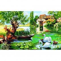Royal Paris 76 x 48 cm Baskılı Goblen - 9880146-00052