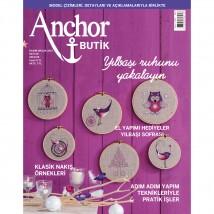Anchor Butik  50. Sayı  Nakış Dergisi