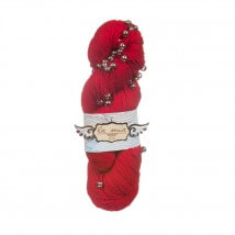 La Mia Perla Kırmızı El Örgü İpi