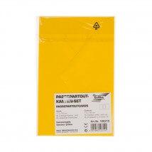 Folia Sarı Oval Akordion Kart Seti - FO-100314