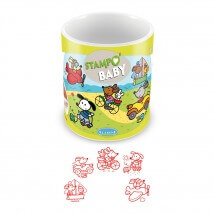 Aladine Stampo Baby Küçük Köpek Damga Seti - 3813