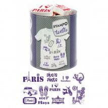 Aladine Stampotextile Paris Barcelona Damga Seti -