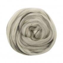 Gazzal Felt Wool Gri Ebruli Yün Keçe - 6116