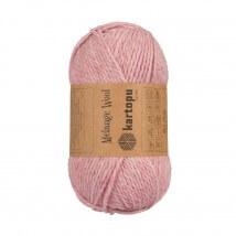 Kartopu Melange Wool Pembe El Örgü İpi - K110