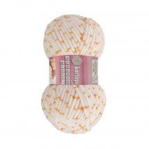 Kartopu Yumurcak Benekli Ebruli Bebek Yünü - YMR0009