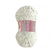 Kartopu Yumurcak Benekli Ebruli Bebek Yünü - YMR0011