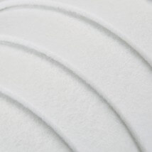 La Mia 50x50 cm 3 mm Beyaz Sentetik Keçe - M02