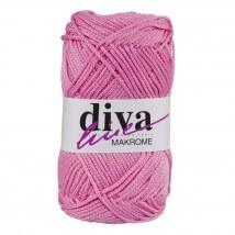Diva Makrome Açık Pembe  El Örgü İpi - 1540