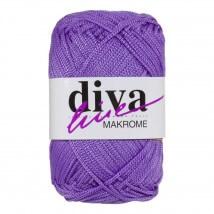 Diva Makrome Mor El Örgü İpi - 4240