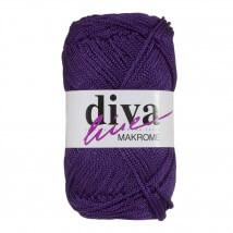 Diva Makrome Mor El Örgü İpi -  4250