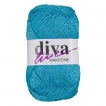 Diva Makrome Mavi El Örgü İpi - 3040