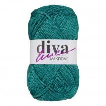 Diva Makrome Yeşil El Örgü İpi - 2659