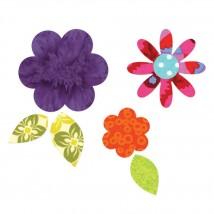 Sizzix Çiçek Yaprakları ve Katları Kalıbı - 1656784