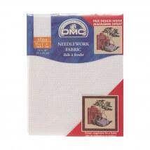 DMC 35x45 cm 11 ct Parça Etamin Kumaşı – DC17-BLANC