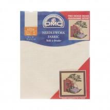 DMC 35x45 cm 11 ct Parça Etamin Kumaşı – DC17-ECRU