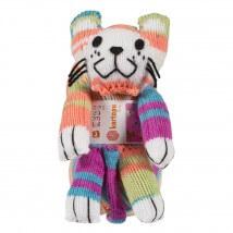 Kartopu Sihirli Kedi Karışık Renk El Örgü İpi Kiti - KF3349