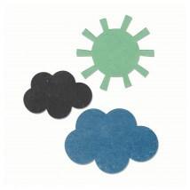 Sizzix Güneş ve Bulutlar Şekilli Kalıp - 1660456