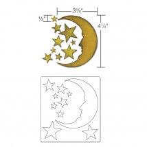 Sizzix Hilal ve Yıldızlar Şekilli Kalıp - 1658716