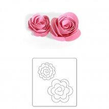 Sizzix 3 Boyutlu Çiçek Şekilli Kalıp - 1656545