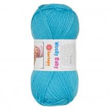 Kartopu Woolly Baby Mavi Bebek Yünü - K515