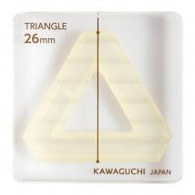 Kiyohara Kawaguchi 26 Mm Plastik Üçgen Patchwork Kalıbı  - 80-856