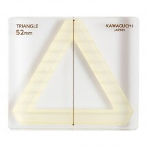 Kiyohara Kawaguchi 52 Mm Plastik Üçgen Patchwork Kalıbı  - 80-858