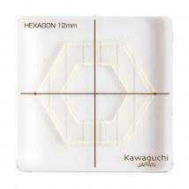 Kiyohara Kawaguchi 12 Mm Plastik Altıgen Patchwork Kalıbı  - 80-839