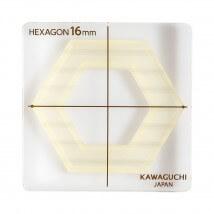 Kiyohara Kawaguchi 16 Mm Plastik Altıgen Patchwork Kalıbı  - 80-840