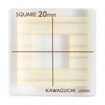 Kiyohara Kawaguchi 20 mm Plastik Kare Patchwork Kalıbı  - 80-851
