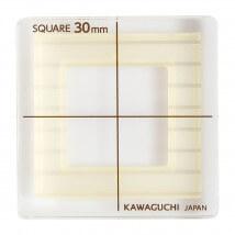 Kiyohara Kawaguchi 30 Mm Plastik Kare Patchwork Kalıbı  - 80-850