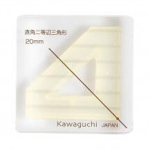 Kiyohara Kawaguchi 20 Mm Plastik Köşeli Üçgen Patchwork Kalıbı  - 80-852