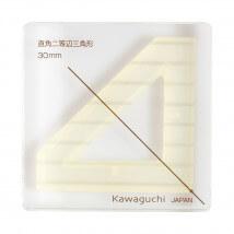Kiyohara Kawaguchi 30 Mm Plastik Köşeli Üçgen Patchwork Kalıbı  - 80-853
