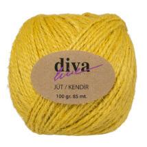Diva Line 100 gr Yumurta Sarısı Jüt İp - 10
