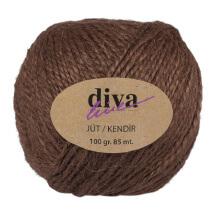Diva Line 100 gr Kahverengi Jüt İp - 07