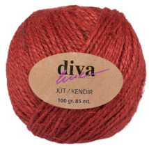 Diva Line 100 gr Kiremit Rengi Jüt İp - 06