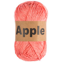 Apple Nar Çiçeği Doğal El Örgü İpi