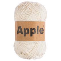 Apple Krem Doğal El Örgü İpi