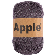 Apple Gri Ebruli Doğal El Örgü İpi