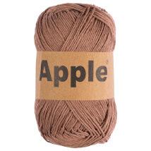 Apple Kahverengi Doğal El Örgü İpi