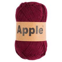 Apple Bordo Doğal El Örgü İpi