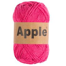 Apple Pembe Doğal El Örgü İpi
