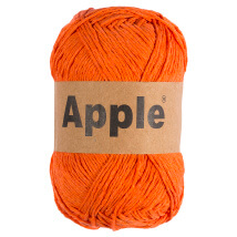 Apple Turuncu Doğal El Örgü İpi