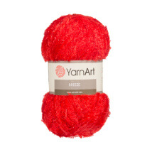 YarnArt Breeze Kırmızı El Örgü İpi - 07