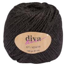 Diva Line 100 Ggr Siyah Jüt İp - 3