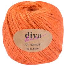Diva Line 100 gr Turuncu Jüt İp - 12