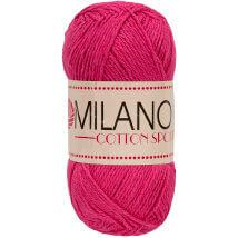 Diva Milano Cotton Sport Fuşya El Örgü İpi-19