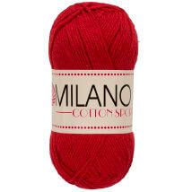 Diva Milano Cotton Sport Kırmızı El Örgü İpi -20